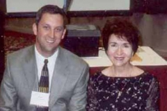 Dr. Radd and Dr. Paul Barnes following their presentation, Keys to Helping Students Identify Solutions, at the American School Counselors Association Conference in Reno, Nevada, in June 2004.