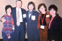 Association for Career and Technical Education (ACTE) 1999 Convention in Orlando, Florida. Dr. Radd with other Pre-Conference speakers.