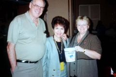 Dr. Harvey and Mary Lynn Smith with Dr. Radd at International Alliance for Invitational Education Leadership Institute in Omaha, Nebraska. September 2001.