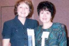 Dr. Tommie Radd and Janet Fidler presenters at the Nebraska Counselors Association 2000 Conference in Omaha, Nebraska.
