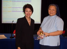Dr. Radd with Dr. So at the University of Macau, College of Education, where Dr. Radd presented Inviting Student Success – A Systems Approach in July 2005.