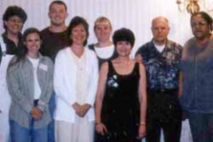 Workshop at Hilltop Academy in Elyria, Ohio, August 2000.
